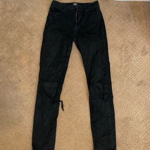 BDG jeans with holes in knees